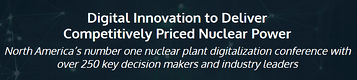 DevonWay Attending 2nd NEI Nuclear Plant Digitalization Conference
