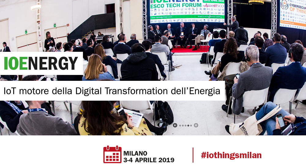 IOThings 2019: Intelligenza Artificiale e Applicazioni di Efficienza Energetica