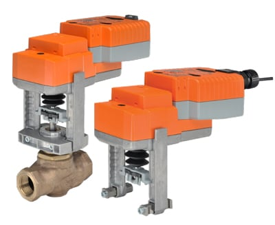 Belimo New Generation Globe Valve Actuators and Retrofit Linkages