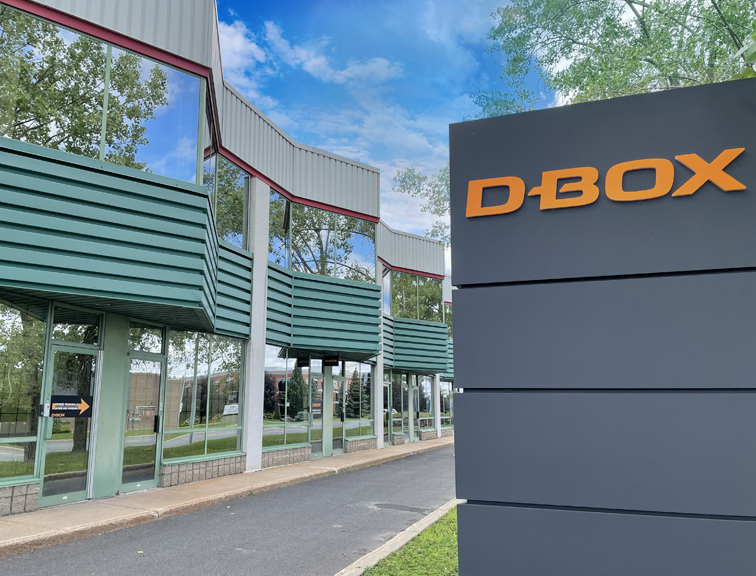 D-BOX-Head-Office-Montreal-Longueuil