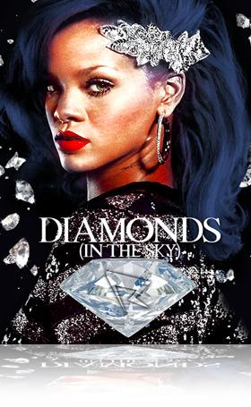 Music Poster Septembre 2021_Rihanna Diamonds