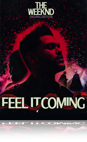 Music Poster Septembre 2021_The Weekend I feel it coming