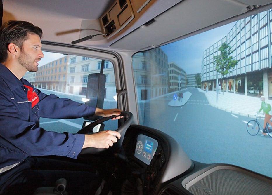 Man-using-D-BOX-heavy-vehicle-professional-simulator