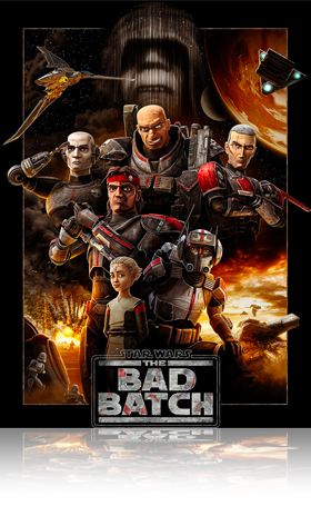 Series Poster Septembre 2021_Star Wars The bad Batch