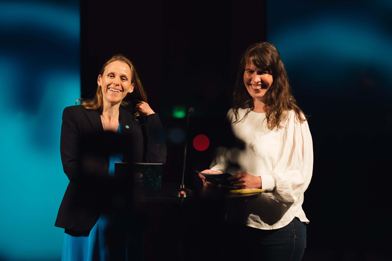 Lise Lyngsnes Randeberg og Monica Tjelmeland