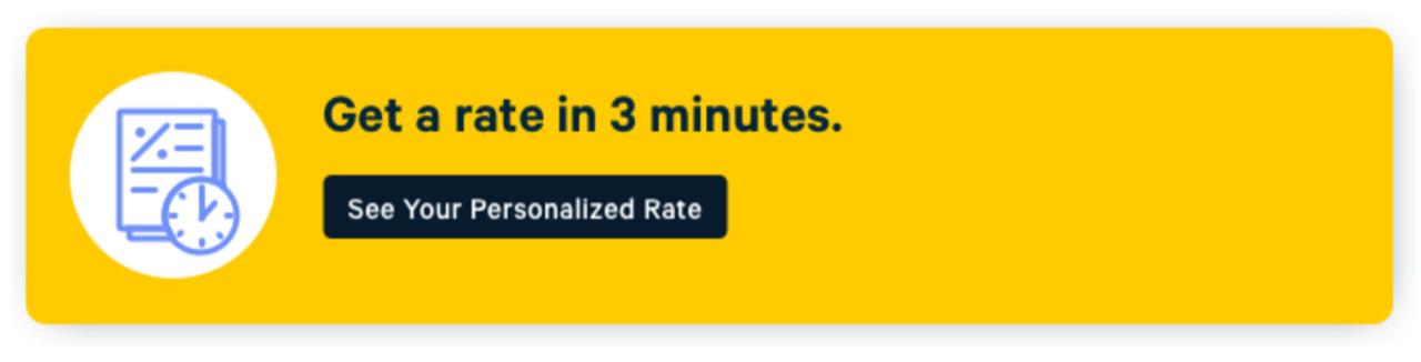 personalised rate