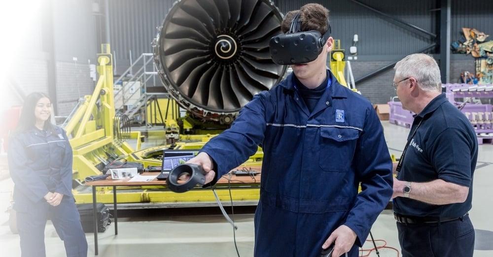 Come ridurre il rischio con la formazione in realtà virtuale