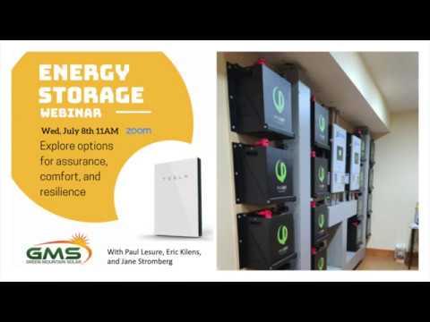 Video: Energy Storage Backup