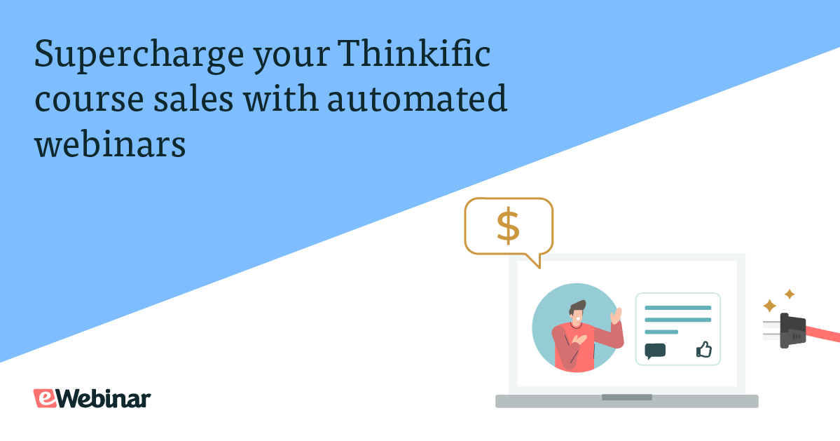 Supercharge Your Thinkific Course Sales with Automated Webinars