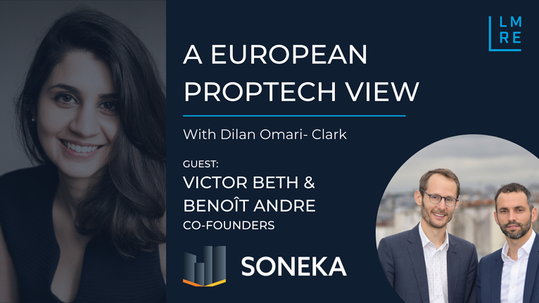 A European PropTech View, Victor Beth & Benoit Andre, Soneka