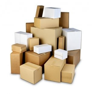 ¿De qué depende el precio de una caja de cartón?
