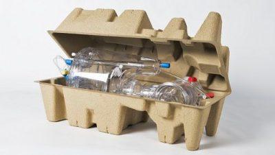 Pulpa de papel, un embalaje interior eficaz y ecológico