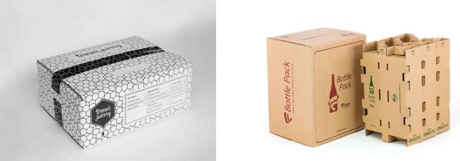 ¿Cómo afecta la tinta a la sostenibilidad de las cajas de cartón?