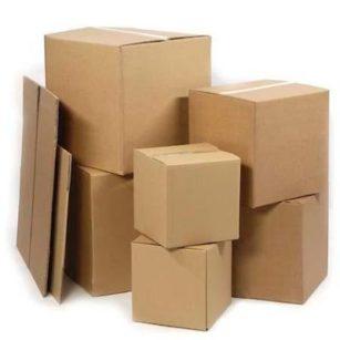 Cómo medir una caja de cartón