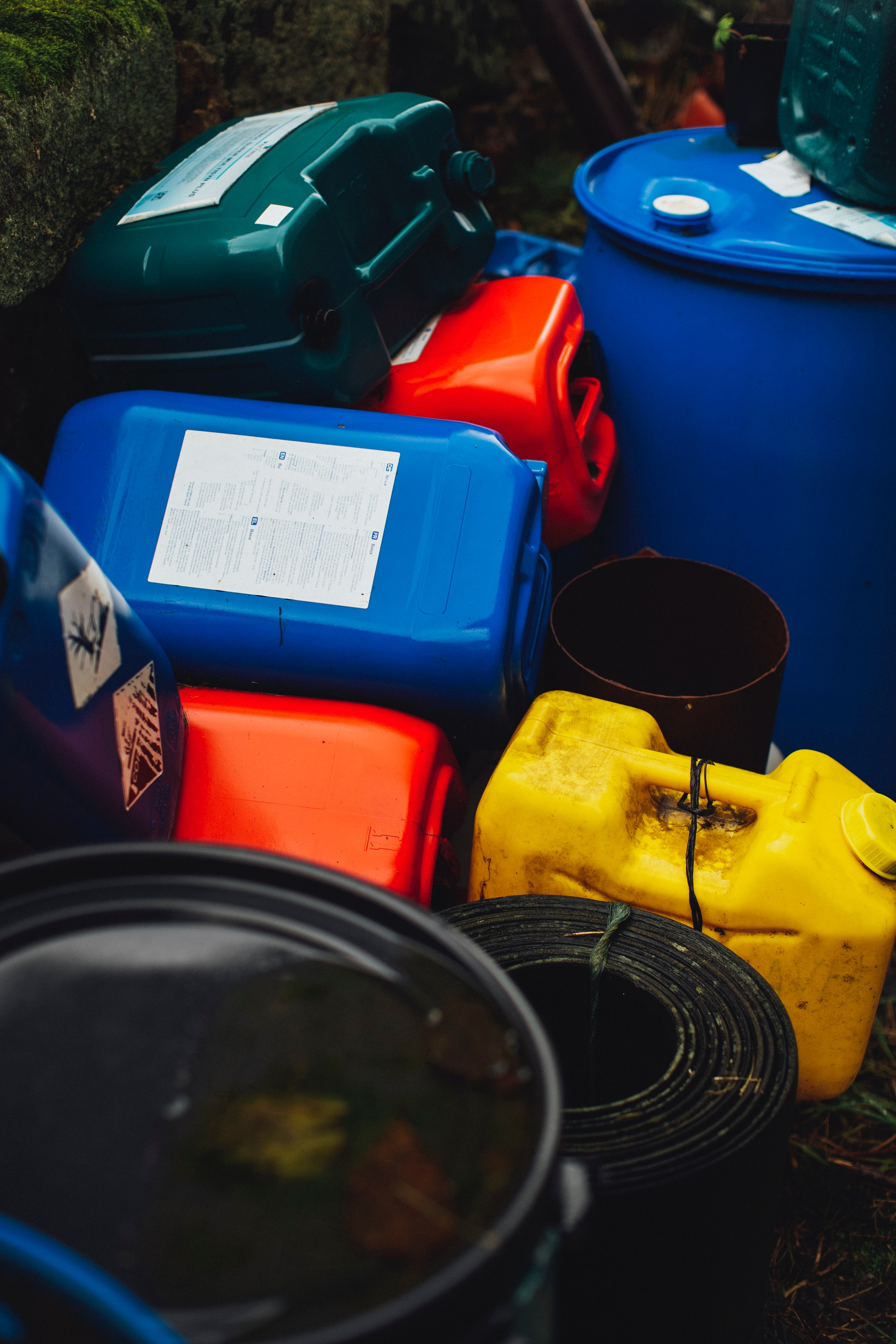 Toxic chemicals can leak from items in a hoarder's house