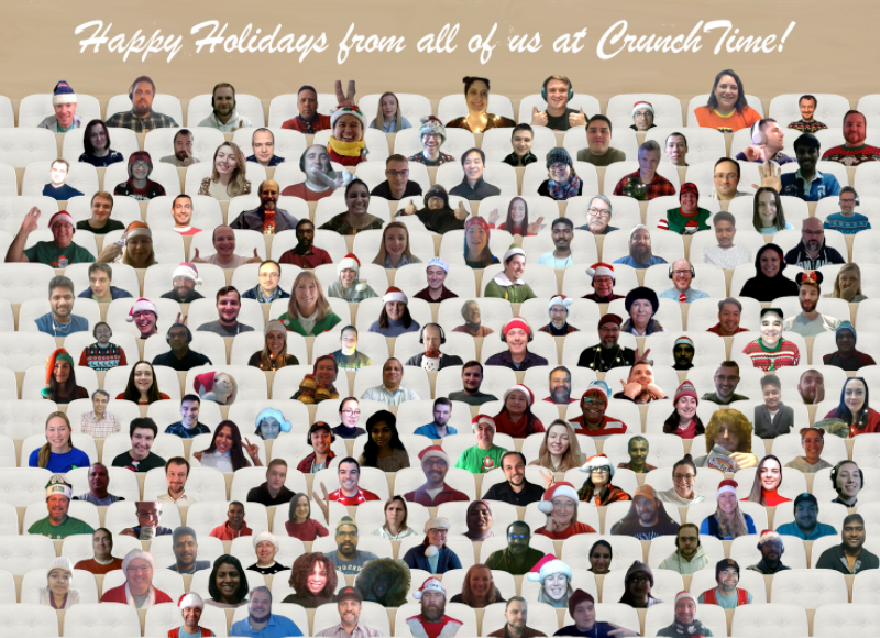 Happy Holidays CT 2020 Company