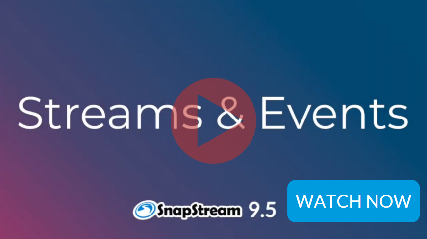 Streams and Events