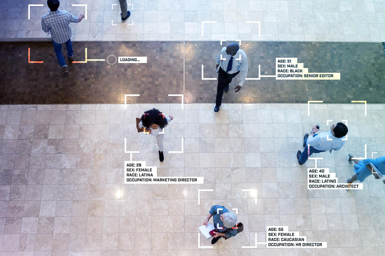 personas reconocidas por tecnologia