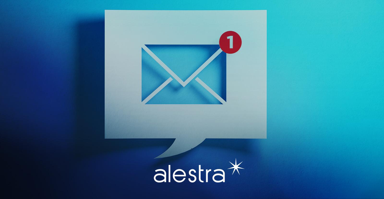 Colaborador recibe un correo en su aplicación personal y las soluciones de Alestra se aseguran que no esté infectado o sea spam