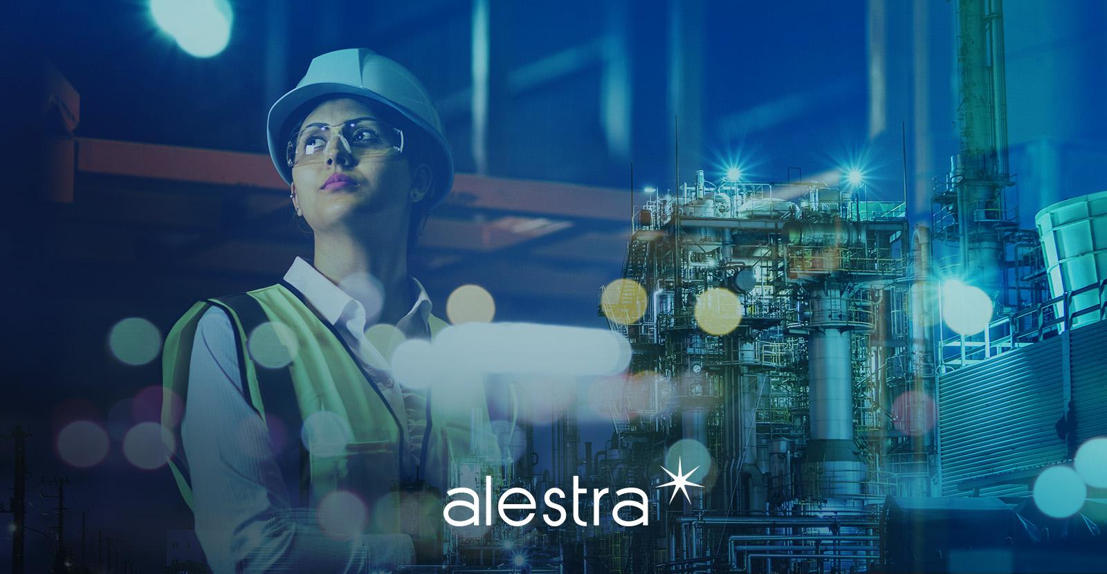 Trabajadora de la construcción junta sus conocimientos técnicos con la digitalización de la nueva realidad