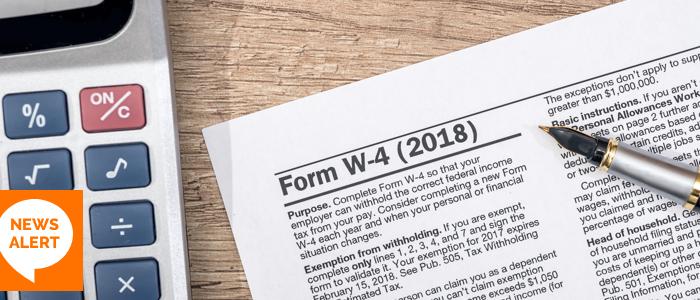 Form W-4 2018
