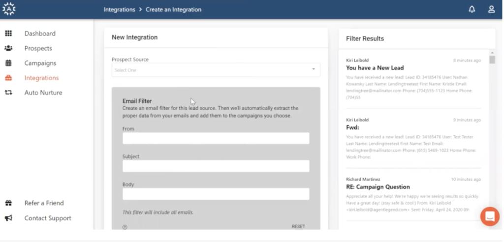 Velocify Integration