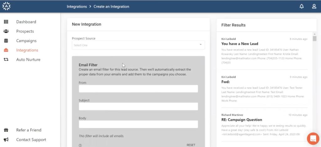 ylopo integration with AL