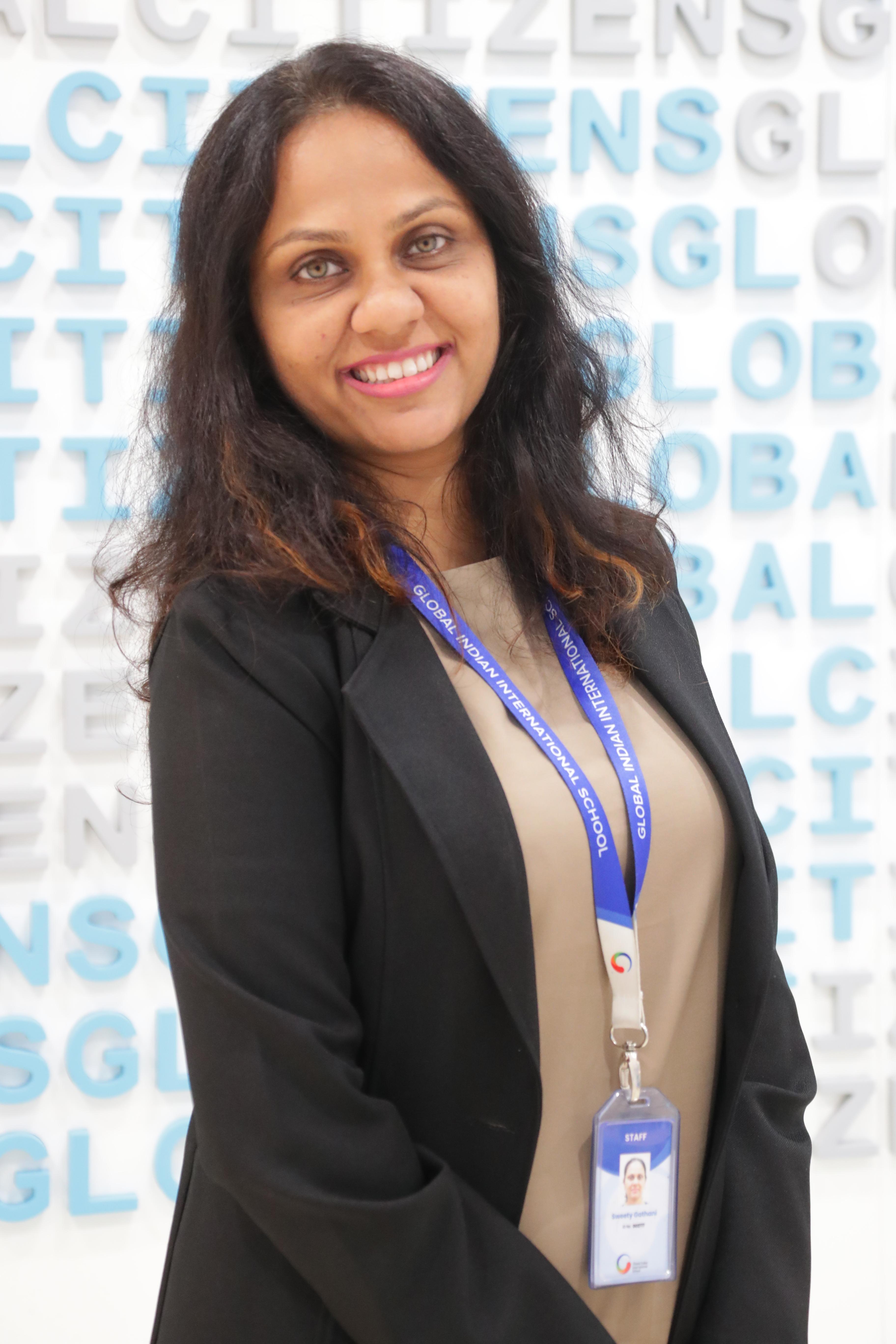 Sweety Gathani, Member, GCEE Team