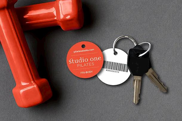 Custom keytags perfect for a membership program