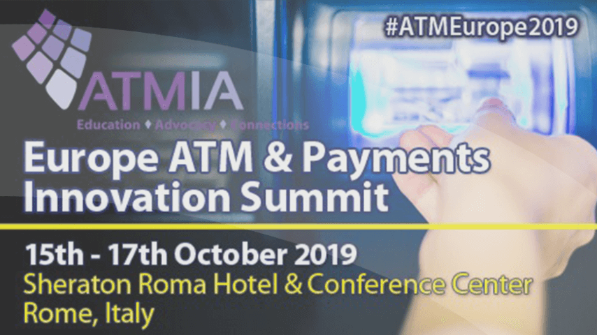 Pleased to be attending ATMIA 2019