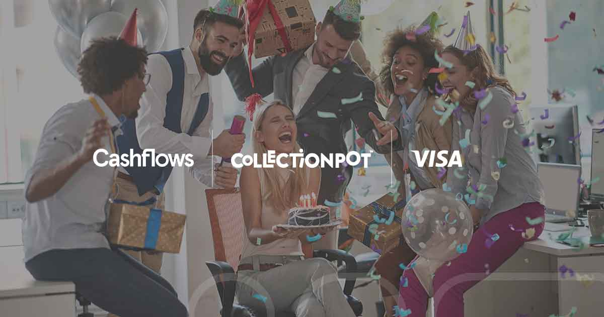 Cashflows and Collection Pot launch real-time pay-outs via Visa Direct