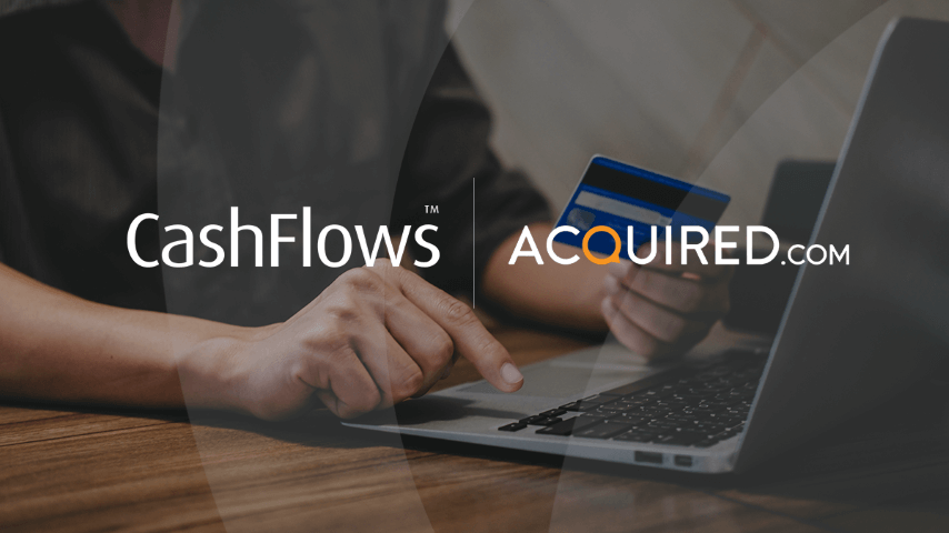 Cashflows and Acquired.com release card Account Updater service