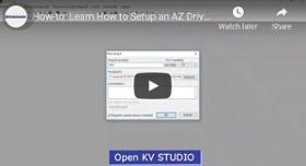 How-To Video: How-to: Learn How to Setup an AZ Driver on a Keyence KV-8000/KV-7500 PLC
