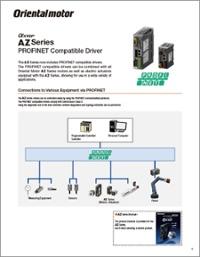 AZ Series Profinet drivers cutsheet
