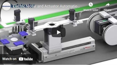 Electric Motor & Linear Actuator Video - Automation demo
