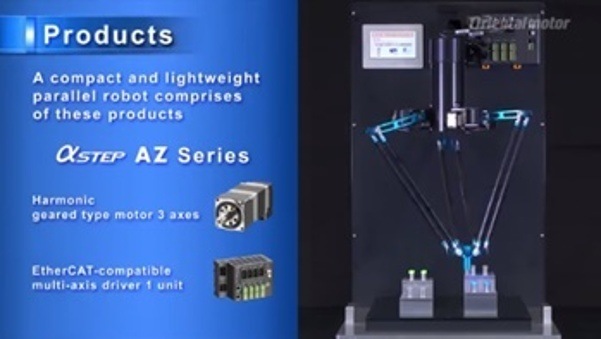 Watch 3-axis Parallel Robot Video
