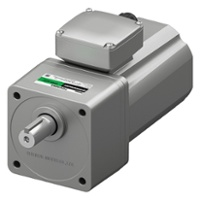 K2S series 200 W 1/4 HP AC gear motor with stainless steel shaft and IP66
