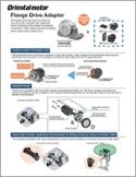 Flange drive adapter cutsheet
