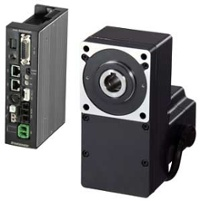 BLV series flat BLDC gearmotor and dedicated driver