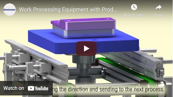 Work processing equipment demo