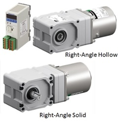 Right angle gearheads for DSC Series