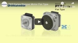 PKP flat type stepper motor intro video