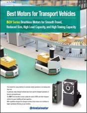 Best Motors for Transport Vehicles AGV brochure