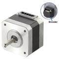 PKP series NEMA 17 encoder type stepper motor