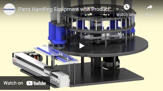 Parts Handling Machine Example