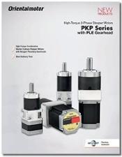 PKP Series Stepper Motors with Neugart PLE Gearhead Catalog