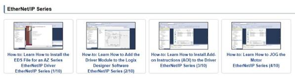 EtherNet/IP driver setup video tutorials - Studio 5000 Logic Designer