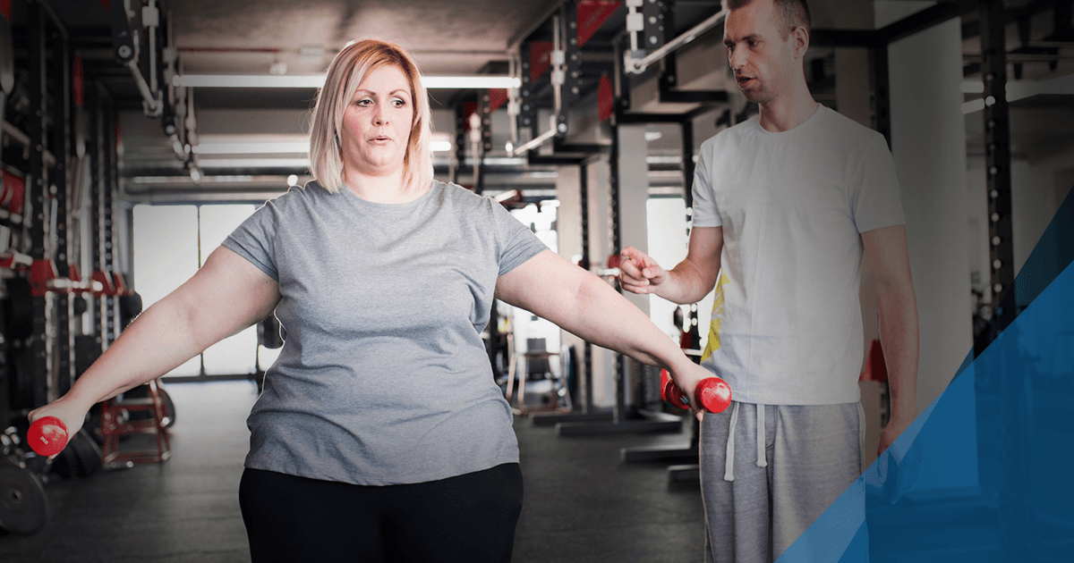 heart rate training fitness for overweight women