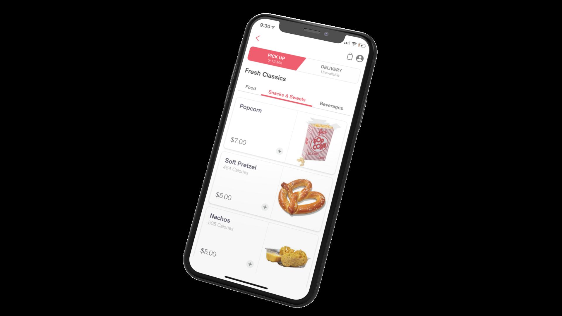 fanfood ordering app