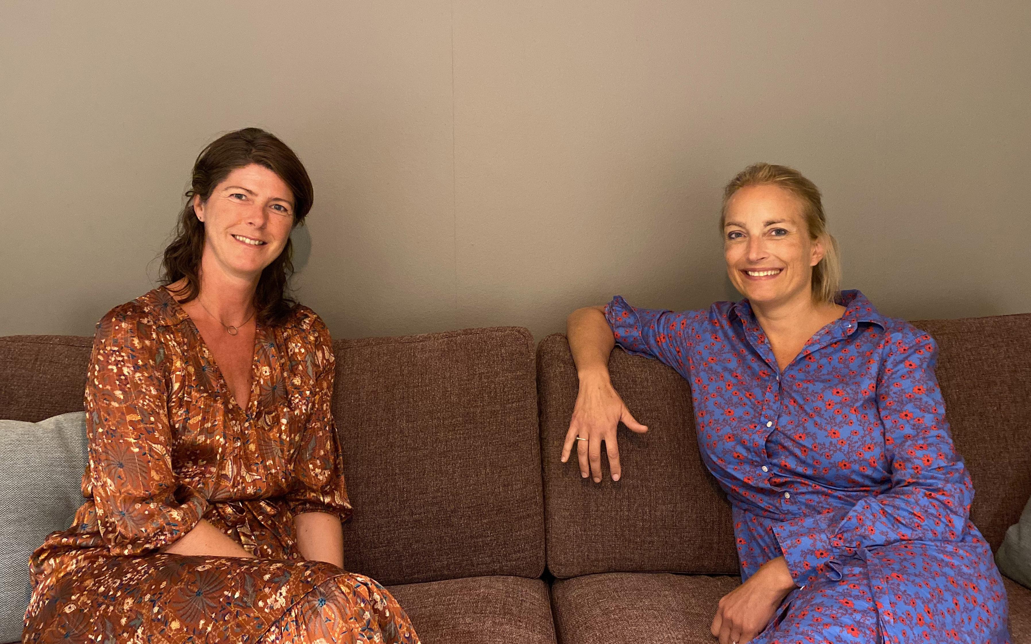 Jannicke Bøe Liebenberg og Lise K. Jæger i Labs.Marketing.